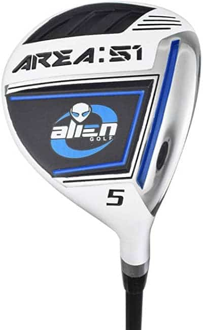 Alien golf clubs