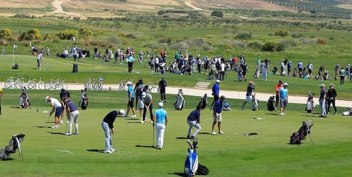 course crowded
