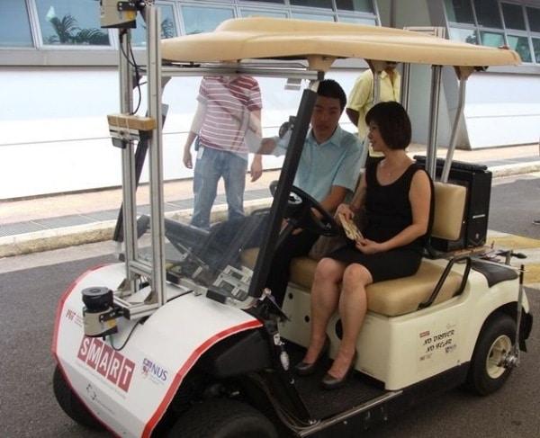 test drive golf cart